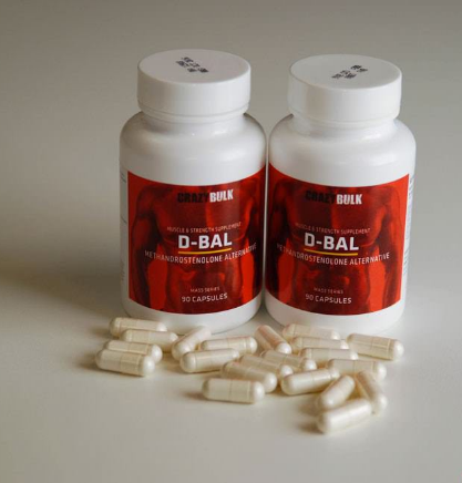 crazybulk d bal pills and bottle