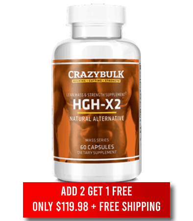 Order HGH X2 Now
