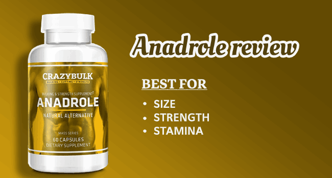 Anadrole - Alternative to Anadrol Review