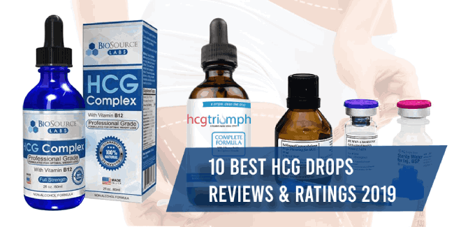 best hcg drops reviews 2019