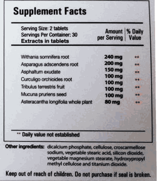 prosolution plus supplement facts